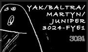 YAK/BALTRA/MARTYN/JUNIPER - 3024-FYE1 (3024)