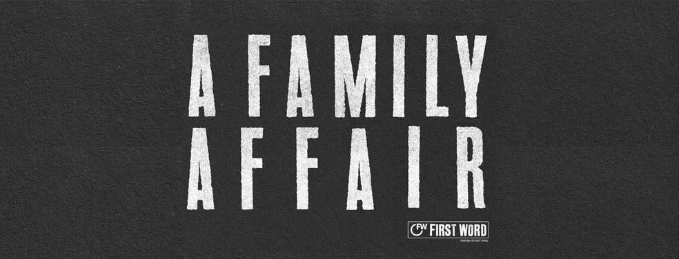VariousA Family AffairFirst Word