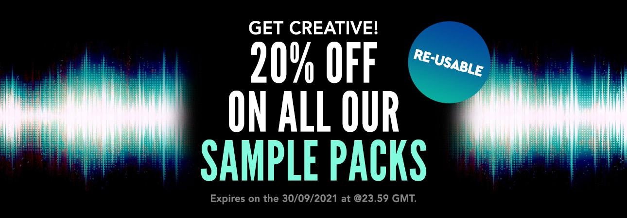 Sample Packs Sale 2021