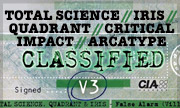 TOTAL SCIENCE/QUADRANT/IRIS/CRITICAL IMPACT/ARCATYPE - Classified V3 (Computer Integrated Audio)