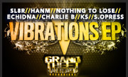 SL8R/HANM/NOTHING TO LOSE/ECHIDNA/CHARLIE B/KS/S.OPRESS - Vibrations V (Grand Theft Audio Recordings) - exclusive 25-06-2018