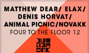 MATTHEW DEAR/ELAX/DENIS HORVAT/ANIMAL PICNIC/NOVAKK - Four To The Floor 12 (Diynamic Music)