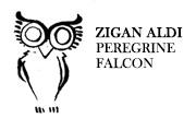 ZIGAN ALDI - Peregrine Falcon (Underyourskin)