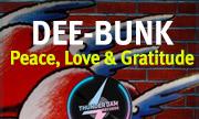 DEE-BUNK - Peace, Love & Gratitude (Thunder Jam) - exclusive 31-12-2030