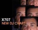 X707 DJ Chart