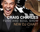 Craig Charles Funk and Soul DJ Chart