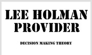 LEE HOLMAN - Provider EP (Decision Making Theory) - exclusive 01-01-2030