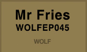 MR FRIES - WOLFEP045 (Wolf Music Recordings)