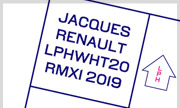 JACQUES RENAULT - LPHWHT20RMX1 (Let's Play House US)