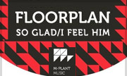 FLOORPLAN - So Glad/I Feel Him Moving (M Plant US)